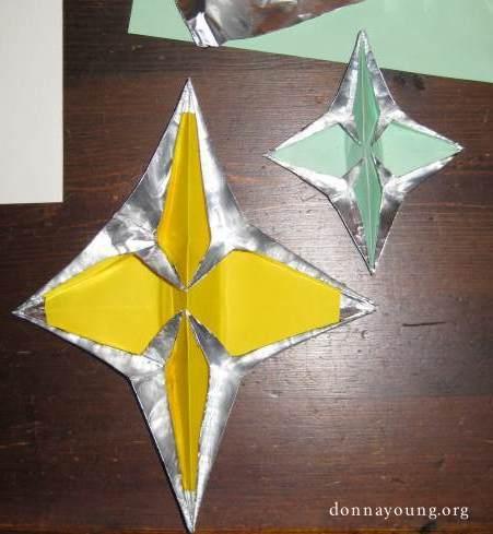 folded star