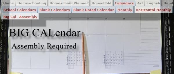 Big Calendar
