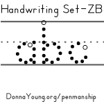 ZB Handwriting Worksheets