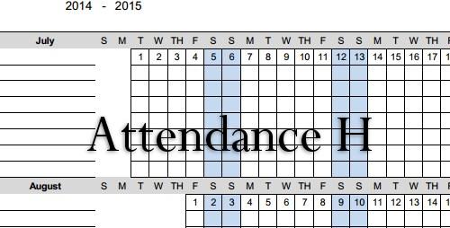 attendanceh