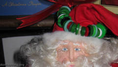 Donna's Homemade Santa