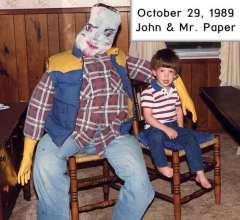 John and Mr. Paper
