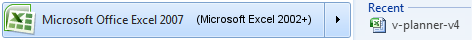 Microsoft Office Excel is Required
