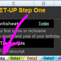 Setup: Step One – Data