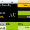AU – in all V4 V Planners