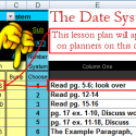 Date System – Schedule Lesson Plans by Date