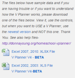 What is a BETA V Planner?