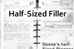 half sized household forms