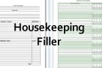 household housekeeping forms