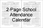 2 page attendance