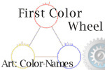 child's firt color wheel