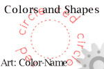 Trace Color Names, Trace and Color Shapes