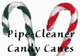 Pipe-Cleaner Candy Canes