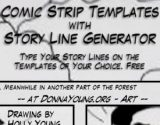 Comic Strip Layouts with Story Line Generator