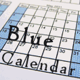Light Blue Calendars