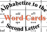 Printable Guide Words Activities