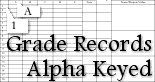 Alpha-Keyed Grader and Grade Sheet at Portfolio Planner