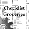 the grocery checklist, doc file for the household planner