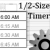 1/2 sized timer