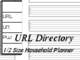 URL Directory for the Desk-Sized Planner