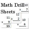 40 New Math Drill Sheets