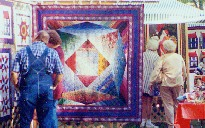 My quilts in a fair